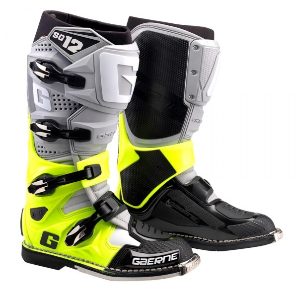 MOTOKROSOVÉ BOTY GAERNE SG 12 2020 Colour Yellow Fluo Black
